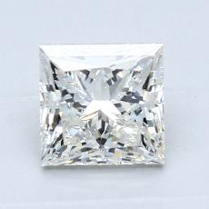 Recommended Stone #1: 1.27-Carat Princess Cut Diamond