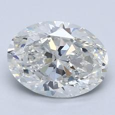2.05-Carat Oval Diamond Very Good G VS2