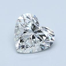 Recommended Stone #1: 1.01-Carat Heart Cut Diamond