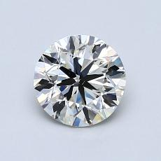 1.00-Carat Round Diamond Good J SI2