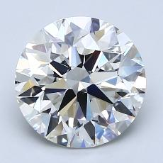 Recommended Stone #1: 2.60-Carat Round Cut Diamond