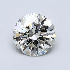 1,03-Carat Round Diamond Ideal I VS2