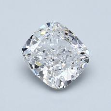 1.00 Carat 垫形 Diamond 非常好 D VS1