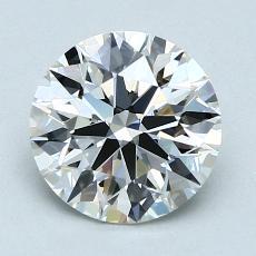1,70-Carat Round Diamond Ideal H VVS2