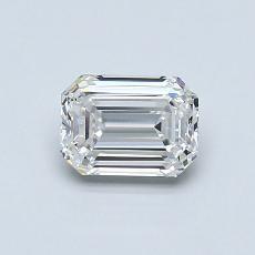 Recommended Stone #4: 0.73-Carat Emerald Cut Diamond
