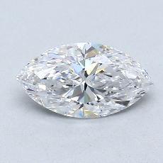 0.72-Carat Marquise Diamond Very Good D IF