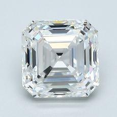 オススメの石No.4:1.80カラットアッシャーカットダイヤモンド