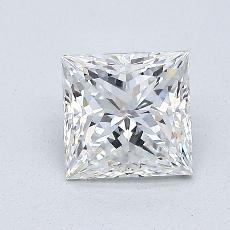 1,02-Carat Princess Diamond Very Good E VVS2