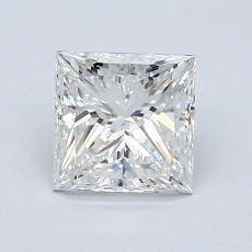 1.24-Carat Princess Diamond Very Good F VS2