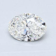 推薦鑽石 #3: 0.69 克拉橢圓形切割鑽石