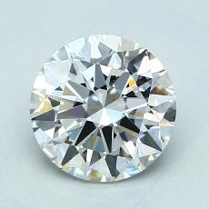 1,50 Carat Rond Diamond Idéale E VS2