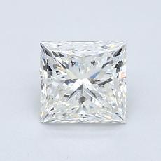1,01 Carat Princesse Diamond Très bonne I VS2