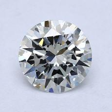 1,50-Carat Round Diamond Ideal H VS1