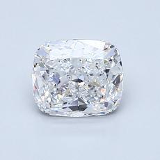 1.01 Carat 墊形 Diamond 非常好 D VS1