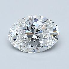 Recommended Stone #4: 1.05-Carat Oval Cut Diamond