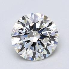 1.50-Carat Round Diamond Ideal I SI1