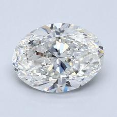 1.51-Carat Oval Diamond Very Good G VS2