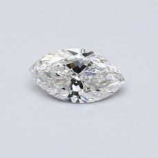 0,30-Carat Marquise Diamond Very Good E SI1