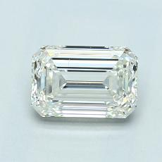 1.01-Carat Emerald Diamond Very Good K VS2