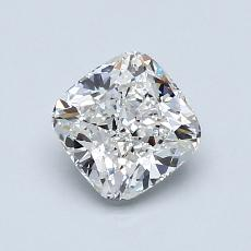 1.01-Carat Cushion Diamond Very Good F VVS2