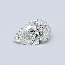 0.36-Carat Pear Diamond Very Good G VVS1