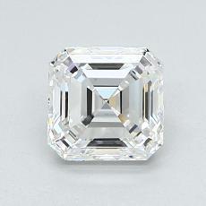 Recommended Stone #4: 1.30-Carat Asscher Cut Diamond