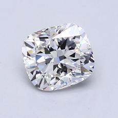 1,05-Carat Cushion Diamond Very Good F VS1