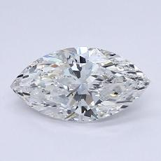 Recommended Stone #2: 0.71-Carat Marquise Cut Diamond