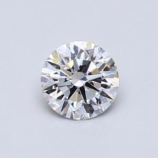 0.54 Carat 圓形 Diamond 理想 F VS2