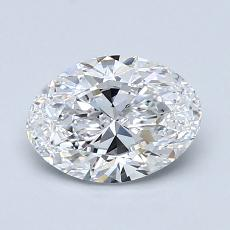 Recommended Stone #4: 1,20-Carat Oval Cut Diamond