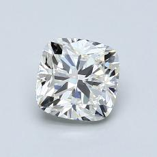 1.01-Carat Cushion Diamond Good J VS1