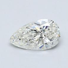 Pierre recommandée n°3: Diamant taille poire 0,71carats