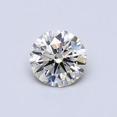 Recommended Stone #2: 0.58-Carat Round Cut
