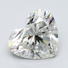 Recommended Stone #2: 2.06-Carat Heart Cut Diamond