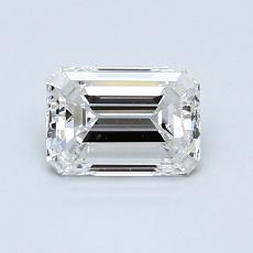Recommended Stone #4: 0,86-Carat Emerald Cut Diamond
