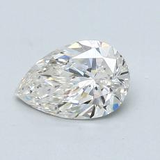 0,70-Carat Pear Diamond Very Good I VS2