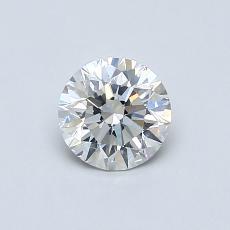 0.60 Carat 圆形 Diamond 理想 H VS2