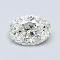 1.00-Carat Oval Diamond Very Good I VS1