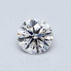 Target Stone: 0.63-Carat Round Cut Diamond