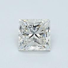 0.80-Carat Princess Diamond Very Good I VS1