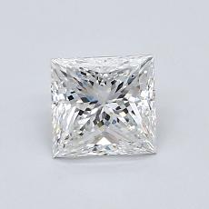 Recommended Stone #3: 0.83-Carat Princess Cut Diamond