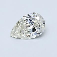 Recommended Stone #3: 0.59-Carat Pear Cut Diamond