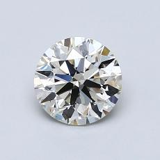 当前宝石:0.80 克拉圆形切割