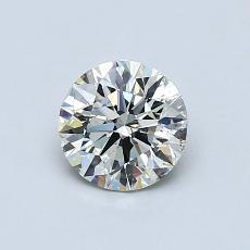 0.70 Carat 圆形 Diamond 理想 K SI2