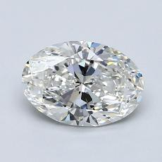 1.02-Carat Oval Diamond Very Good G VVS2