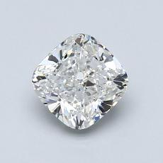 1.00-Carat Cushion Diamond Very Good G VS1