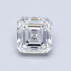 1.00-Carat Asscher Diamond Very Good E VS1