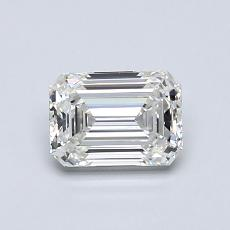 Recommended Stone #2: 0.76-Carat Emerald Cut Diamond