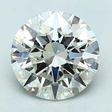 Recommended Stone #1: 3.01-Carat Round Cut Diamond