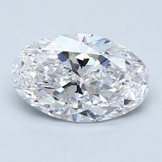 Recommended Stone #2: 1.29-Carat Oval Cut Diamond